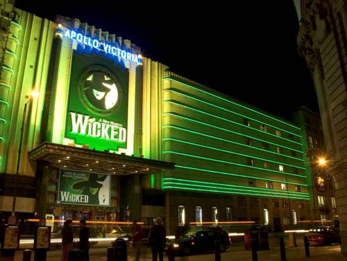 Wicked, at the Apollo Victoria